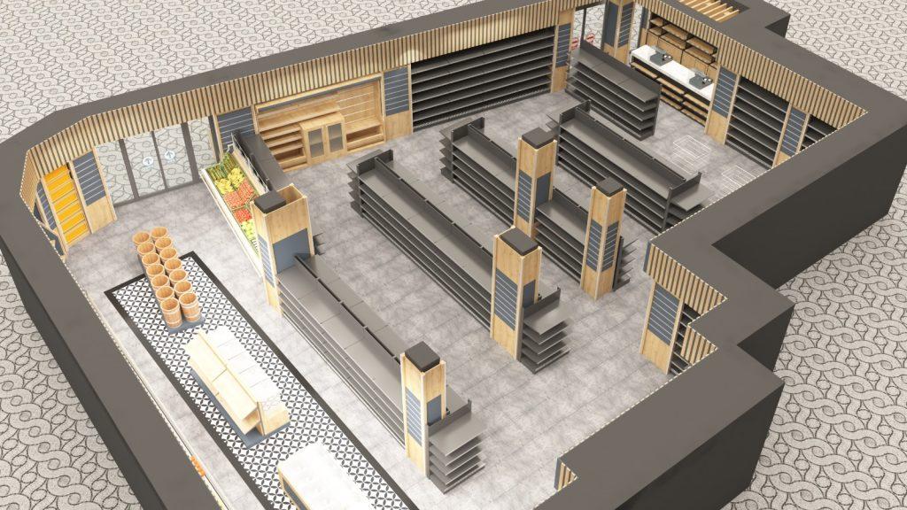 Market Tasarım - Dizayn